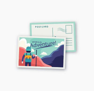 Badge4u – Flexi kartka pocztowa