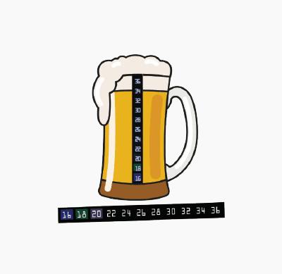 Badge4u – Flexi termometr