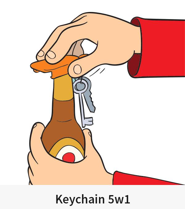 Keychain 5w1