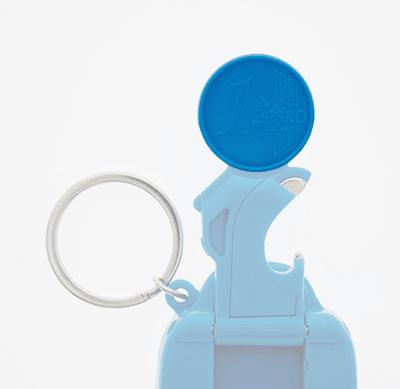Badge4u – Keychain 5w1 – Moneta do wózka