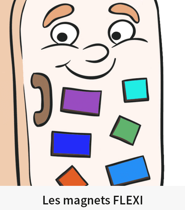 Les magnets FLEXI